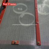 El serrín lineal efectiva de los chips de pantalla de vibración Pelletts madera