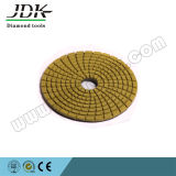 100mm Diamond Polishing Pads souples pour marbre et granit