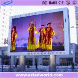 Painel de parede de vídeo ao ar livre P20 em cores ao ar livre (CE)