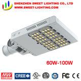 Nuevo diseño de alta calidad menos peso Calle luz LED IP67.