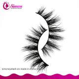 Mischungs-Größen-natürliche schauende kosmetische falsche Wimpern