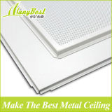 2018 Hot Sale acoustique réside dans les carreaux de plafond en aluminium avec grille visible T