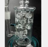 Conduite d'eau en verre de reprise de filtre de pipe de fumée de 7.87 pouces