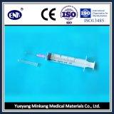 Medische Beschikbare Spuiten, met Naald (20ml), Misstap Luer, met Goedgekeurde Ce&ISO