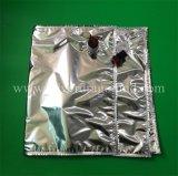 Saco assépticas personalizadas, saco de alumínio na caixa, para sumo de óleo/água/Espírito Package