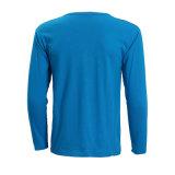 Людей рубашки O-Шеи тенниска втулки очень дешевых Breathable низкопробных длинняя