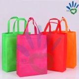 Tissu non-tissé coloré de pp pour le sac à provisions