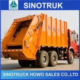 6X4 12cbm Sinotruk HOWOのごみ収集車の圧縮されたごみ収集車