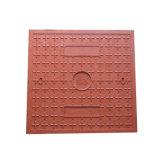 Taille carrée 500x500mm l'utilisation de la chambre de drainage couvercle en plastique décoratifs regard d'égout
