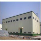 Magazzino isolato costruzione prefabbricata della struttura d'acciaio della fabbrica