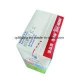 Leite/sumo de pacote de papel