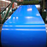 Blanco RAL9002 Prepainted bobinas de acero galvanizado Z275 para materiales de construcción