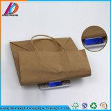 Sacchetto impaccante in bianco su ordinazione della carta kraft del Brown Per alimento