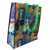 Печатание PP Cmyk прокатало Nonwoven мешок Tote для хозяйственной сумки