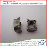 DIN928 Square les écrous soudés en acier au carbone M2-M64