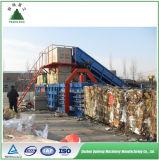 Automatischer Schrott-Karton-Ballenpreßkarton-Kompresse-Maschinen-Karton-emballierengerät