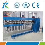 Machine de roulis perlant pour la cannelure intérieure solaire de réservoir de chauffe-eau