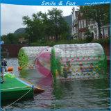 Esfera de passeio de Zorb do rolo da água inflável colorida para jogos da água