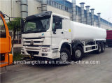 Serbatoio di acqua caldo Truck/371HP 8X4 di vendita 25m3 HOWO che spruzza camion