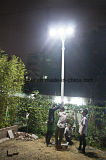 60W All in One / Integrated LED Solar Street Light avec garantie de 5 ans