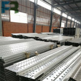 Plancia d'acciaio/trampolino di 250*50*2000 Galvanzied per costruzione