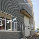 Figerglassサンドイッチパネル工法の鉄骨フレームの構造の倉庫の建物