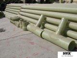 La fibra de vidrio / tubos de plástico reforzado con fibra para la industria militar