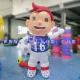 Oxford Polyester Promotion Inflatable Cartoon Character Figure / Publicité Cartoon