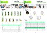 Зеленый щелочные батарейки 0 ртуть AG13 Lr1154 аккумуляторной батареи