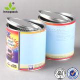 1 [ليتر] معدن قصدير علبة لأنّ مرذاذ مع غطاء ومقبض بلاستيكيّة