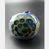 زجاجيّة [وتر بيب] زرقاء قرص عسل شكل من النارجيلة أنابيب