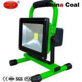 Lampade di inondazione ricaricabili impermeabili esterne di alta qualità LED
