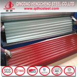 PPGI Farben-überzogener Stahl-gewölbtes Blatt für Dach