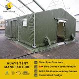 녹색은 포함한다 육군 & 군 화장실 & 일 사무실 (P8 HAF 10M)를 위한 군 천막을