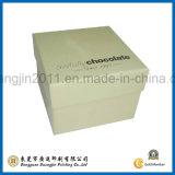 Nuevo diseño de color púrpura de cartón de papel caja de embalaje de chocolate