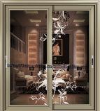 Раздвижная дверь 2017 новой модели 100-90 G&C Fuson Ouya алюминиевая для виллы
