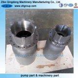 La fonte/partie de la pompe de produits chimiques en acier inoxydable avec revêtement émaillé/peinte