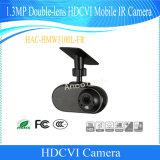 Camera van IRL van de Auto van Hdcvi van de Veiligheid van de dubbel-Lens van Dahua 1.3MP de Mobiele (hac-hmw3100l-Fr)