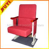 Jy-302s für Verkaufs-Raum-Sitz für Heimkino-moderne englische Filme mit Schreibens-Tablette-Kino-Stuhl verwendetem hölzernem Kaffee-Stuhl