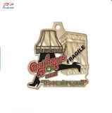 Personalizzare la medaglia del metallo del reticolo del Babbo Natale di alta qualità