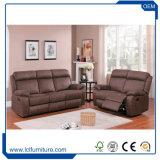 Jogos excelentes do sofá 3 do couro da qualidade da venda quente do estilo do Europa