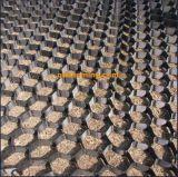 HDPE 50mm200mm diep Zwarte Driedimensionele Geocells