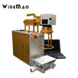 彫版ミラーのための高く効率的な手持ち型20Wファイバーレーザーのマーキング機械
