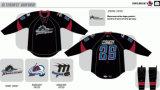Customized Homens Mulheres Crianças Liga de Hóquei Americana Cleveland Monsters 2009-2013 Suplente Hóquei no Gelo Jersey