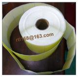 Papel de tamaño personalizado térmica rollo de etiquetas auto-adhesivo de la etiqueta engomada