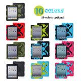 cassa variopinta del coperchio del computer portatile di protezione 3-Layers per iPad mini