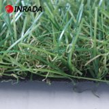 Alfombra artificial verde natural certificada Ce del césped de la hierba del jardín