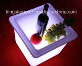 Квадратное Acrylic СИД Ice Bucket для Wine, Beer и Шампань