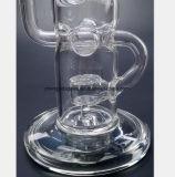 Het Glas dat van het Recycling van de Tabak van de Filter van de Pijp van het Glas van 12.6 Duim PPE rookt