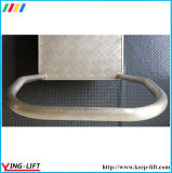 Carrinho de mão de plataforma de alumínio pesado com alça Af2436